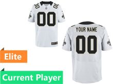 Mens New Orleans Saints White Elite Jersey