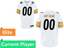 Mens Pittsburgh Steelers White Elite Jersey