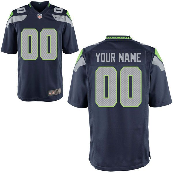 Nfl Seattle Seahawks Blue Game Jersey