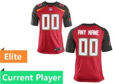 Mens Tampa Bay Buccaneers Red Elite Jersey
