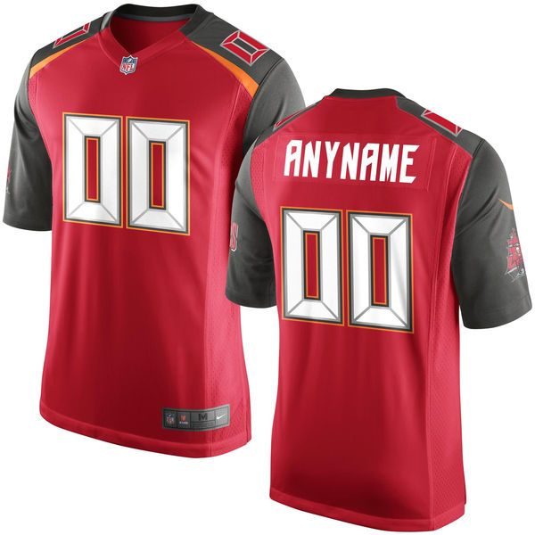 Nfl Tampa Bay Buccaneers Red Game Jersey