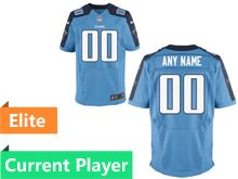Mens Tennessee Titans Light Blue Elite Jersey