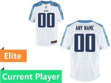 Mens Tennessee Titans White Elite Jersey