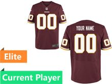 Mens Washington Redskins Red Elite Jersey