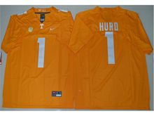Mens Ncaa Nfl Tennessee Volunteers #1 Jalen Hurd Orange Limited Jersey