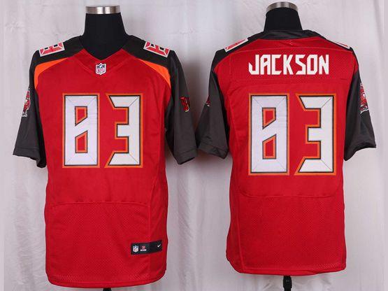 Mens Nfl Tampa Bay Buccaneers #83 Vincent Jackson Red Elite Jersey