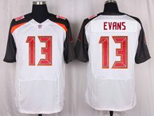 Mens Nfl Tampa Bay Buccaneers #13 Mike Evans White Elite Jersey