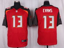 Mens Nfl Tampa Bay Buccaneers #13 Mike Evans Red Elite Jersey