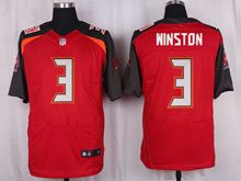 Mens Nfl Tampa Bay Buccaneers #3 Jameis Winston Red Elite Jersey