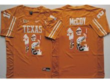 Mens Ncaa Nfl Texas Longhorns #12 Colt Mccoy Yellow Fashion Version Jersey