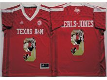 Mens Ncaa Nfl Texas A&m Aggies #9 Ricky Seals-jones Red Fashion Version Jersey