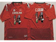 Mens Ncaa Nfl South Carolina Gamecock #14 Connor Shaw Red Fashion Version Jersey