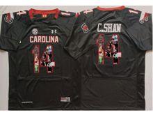 Mens Ncaa Nfl South Carolina Gamecock #14 Connor Shaw Black Fashion Version Jersey