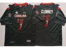 Mens Ncaa Nfl South Carolina Gamecock #7 Jadeveon Clowney Black Fashion Version Jersey