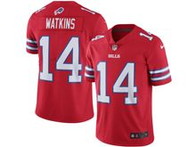 Mens Nfl Buffalo Bills #14 Sammy Watkins Red Color Rush Limited Jersey