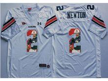 Mens Ncaa Nfl Auburn Tigers #2 Cameron Newton White Fashion Version Jersey