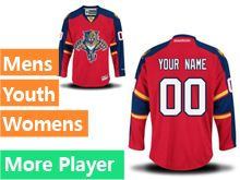 Reebok Florida Panthers Red Home Premier Jersey