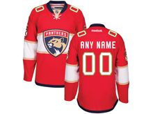 Reebok Florida Panthers (custom Made) Red Jersey