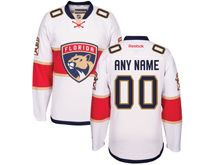 Reebok Florida Panthers (custom Made) White Jersey