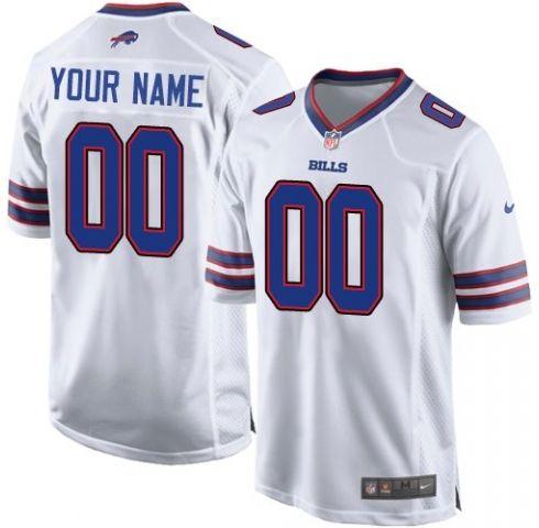 Buffalo Bills (custom Made) White Game Jersey