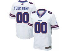 Buffalo Bills (custom Made) White Elite Jersey