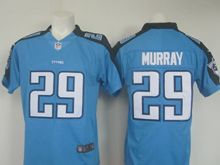 Mens   Tennessee Titans #29 Demarco Murray Light Blue Color Rush Limited Jersey