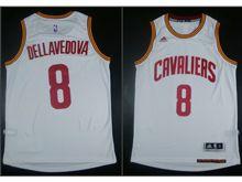 Mens Nba Cleveland Cavaliers #8 Matthew Dellavedova White Jersey