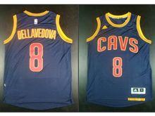 Mens Nba Cleveland Cavaliers #8 Matthew Dellavedova Blue Jersey