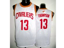 Mens Adidas Cleveland Cavaliers #13 Tristan Thompson White Jersey