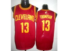 Mens Adidas Cleveland Cavaliers #13 Tristan Thompson Red Jersey