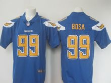 Mens   San Diego Chargers #99 Joey Bosa Blue Color Rush Limited Jersey