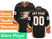 Reebok Anaheim Ducks Black Home Premier Jersey