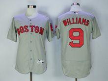 Mens Majestic Mlb San Francisco Giants #9 Williams Gray Flex Base Jersey
