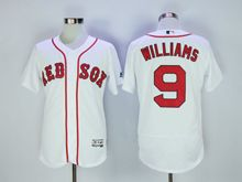 Mens Majestic Mlb San Francisco Giants #9 Williams White Flex Base Jersey