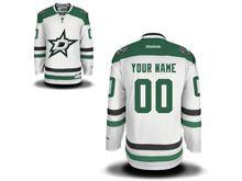 Mens Nhl Dallas Stars (custom Made) White Jersey