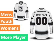 Mens Reebok Los Angeles Kings White Away Premier Jersey