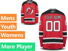 Reebok New Jersey Devils Red Home Premier Jersey