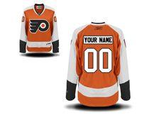 Nhl Philadelphia Flyers (custom Made) Orange Jersey