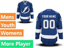 Reebok Tampa Bay Lightning Royal Blue Home Premier Jersey