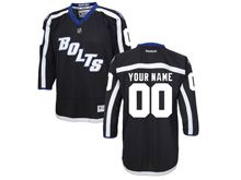 Reebok Tampa Bay Lightning (custom Made) Black Alternate Jersey