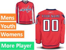 Reebok Washington Capitals Red Home Premier Jersey