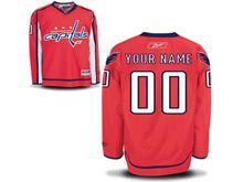 Reebok Washington Capitals (custom Made) Red Premier Home Jersey