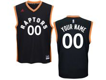 Mens Nba Toronto Raptors (custom Made) Black Gold Jersey