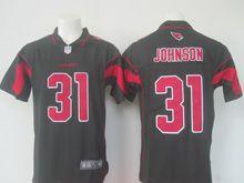 Mens Nfl Arizona Cardinals #31 David Johnson Black Color Rush Limited Jersey