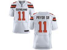 Mens   Nfl Cleveland Browns #11 Terrelle Pryor White Elite Jersey