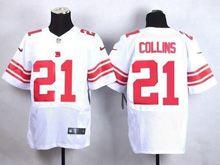 Mens Nfl New York Giants #21 Landon Collins White Elite Jersey