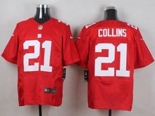 Mens Nfl New York Giants #21 Landon Collins Red Elite Jersey