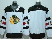 Mens Reebok Nhl Chicago Blackhawks (custom Made) White (2016 Stadium Series) Jersey