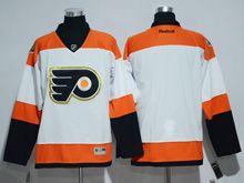 Mens Reebok Philadelphia Flyers Blank White 50th Anniversary Premier Jersey