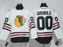 Mens Reebok Nhl Chicago Blackhawks #00 Griswold White 2017 Winter Classic Jersey